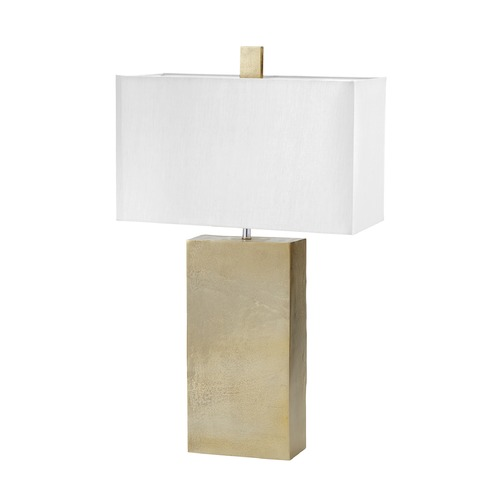 Dimond Lighting Dimond Lighting Nickel Table Lamp with Square Shade 178-033