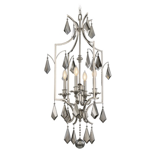 Savoy House Savoy House Lighting Ballard Polished Nickel Pendant Light 3-877-4-109