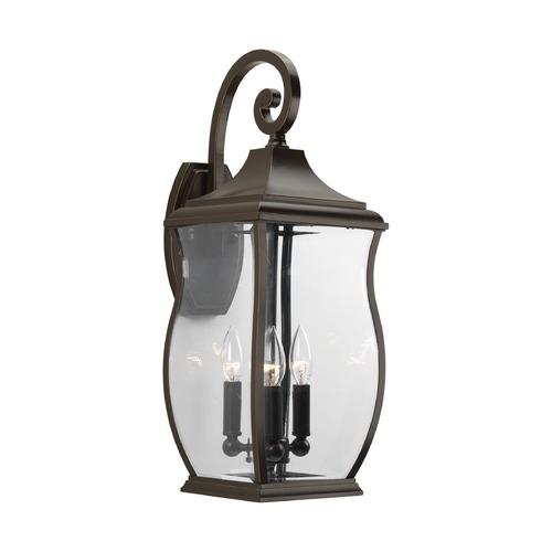 Progress Lighting Progress Lighting Township Oil Rubbed Bronze Outdoor Wall Light P5699-108