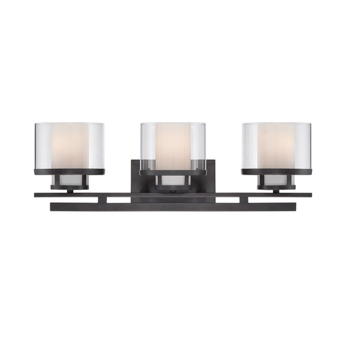 Designers Fountain Lighting Designers Fountain Fusion Biscayne Bronze Bathroom Light 86103-BBR