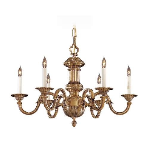 Metropolitan Lighting Chandelier in Classic Brass Finish N700206