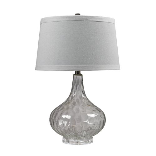 Dimond Lighting Table Lamp with Clear Water Glass  D147