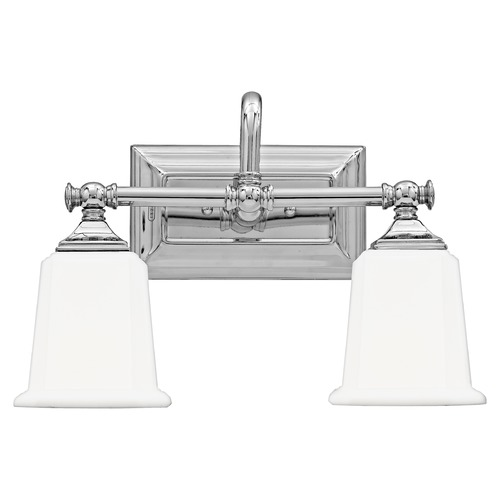 Quoizel Lighting Two-Light Chrome Vanity Light NL8602C