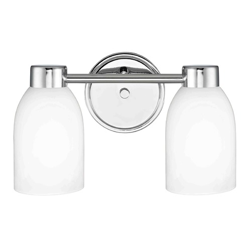 Design Classics Lighting Design Classics Aon Fuse Chrome Bathroom Light 1802-26 GL1028D