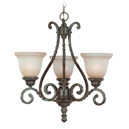 Jeremiah Lighting Jeremiah Sutherland English Toffee Chandelier 22443-ET
