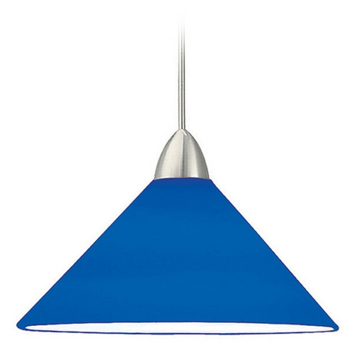 WAC Lighting Wac Lighting Contemporary Collection Brushed Nickel LED Mini-Pendant with Conical S MP-LED512-BL/BN