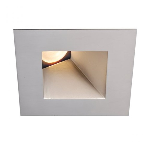 WAC Lighting WAC Lighting Square Brushed Nickel 3.5-Inch LED Recessed Trim 4000K 1150LM 18 Degree HR3LEDT918PS840BN