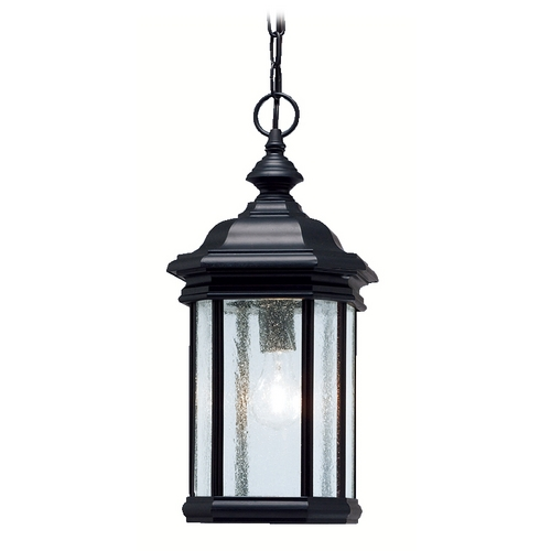 Kichler Lighting Kichler Outdoor Hanging Light in Black Finish 9810BK