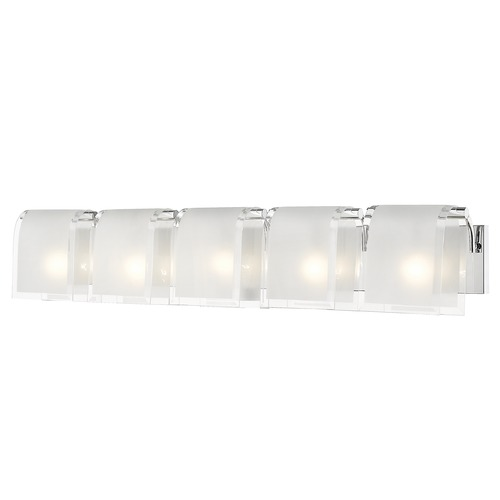 Z-Lite Z-Lite Zephyr Chrome Bathroom Light 169-5V