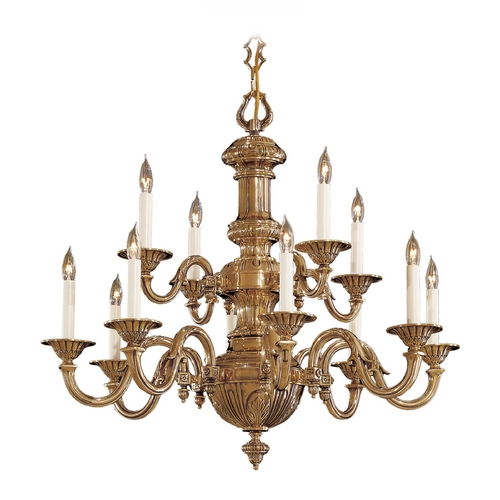 Metropolitan Lighting Chandelier in Classic Brass Finish N700212