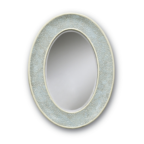 Currey and Company Lighting Eos Oval 23-Inch Mirror 1009