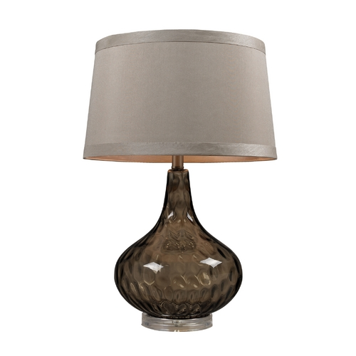 Dimond Lighting Table Lamp in Coffee Smoked Finish D148