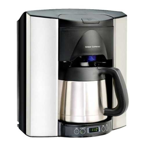 Brew Express Programmable 10-Cup Countertop Brew Express Coffee Maker BEC-110