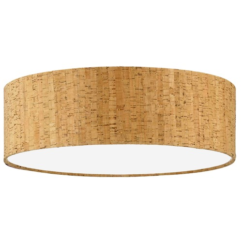 Design Classics Lighting Natural Cork Drum Lamp Shade with Spider Assembly SH7458DIF