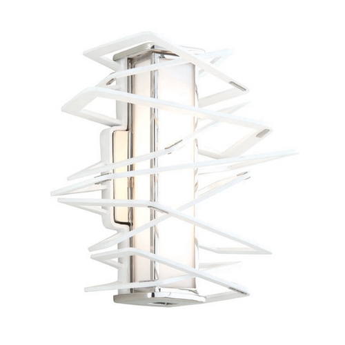 Corbett Lighting Corbett Lighting Tantrum White LED Sconce 185-11