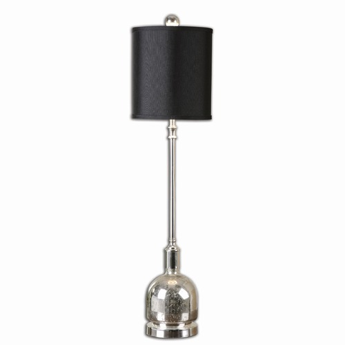 Uttermost Lighting Uttermost Brusson Polished Nickel Buffet Lamp 29970-1