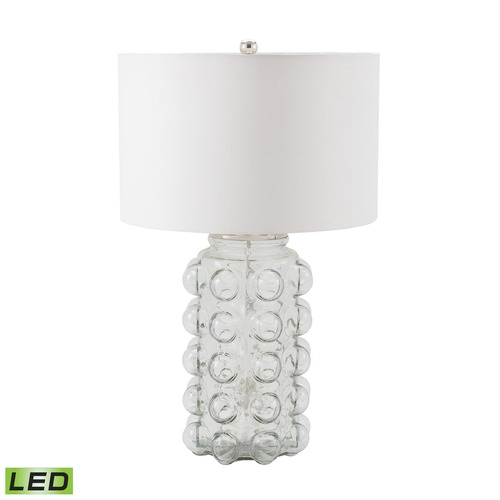 Dimond Lighting Dimond Lighting Clear LED Table Lamp with Drum Shade 983-005-LED
