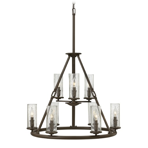 Hinkley Lighting Hinkley Lighting Dakota Oil Rubbed Bronze Chandelier 4789OZ