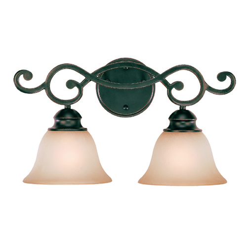 Jeremiah Lighting Jeremiah Farmington Raven's Wash Bathroom Light 23002-RW