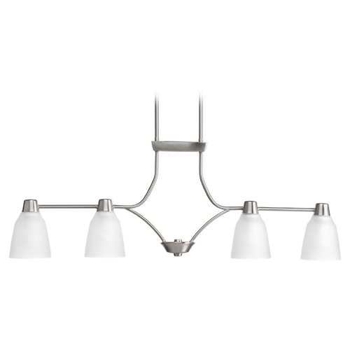 Progress Lighting Progress Lighting Asset Brushed Nickel Island Light P4239-09WB