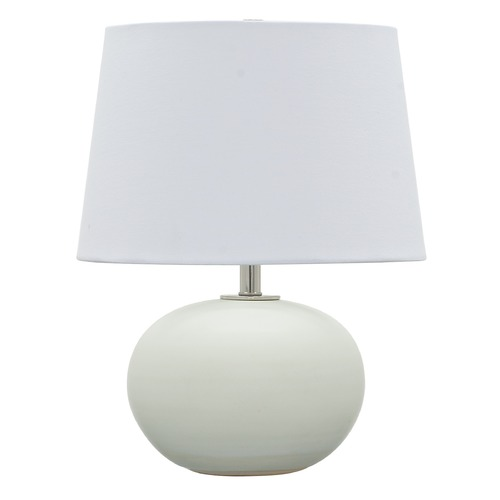 House of Troy Lighting House Of Troy Scatchard White Matte Table Lamp with Empire Shade GS600-WM