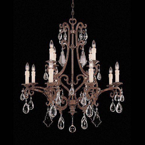 Savoy House Savoy House New Tortoise Shell Crystal Chandelier 1-1403-12-56