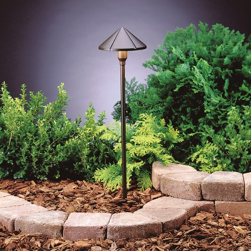Kichler Lighting Kichler Lighting Textured Architectural Bronze LED Path Light 15826AZT27R