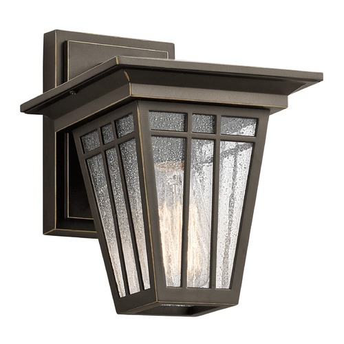 Kichler Lighting Kichler Lighting Woodhollow Lane Outdoor Wall Light 49674OZ