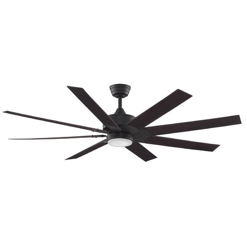 Fanimation Fans Fanimation Fans Levon Dc Dark Bronze LED Ceiling Fan with Light FPD7916DZ