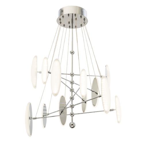 Elan Lighting Elan Lighting Cellulare Chrome LED Chandelier 83327