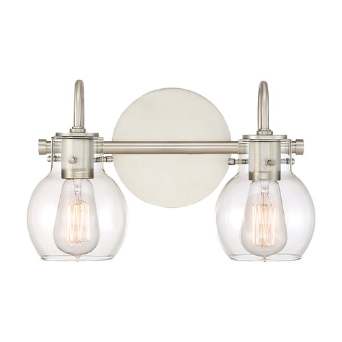 Quoizel Lighting Quoizel Lighting Andrews Antique Nickel Bathroom Light ANW8602AN