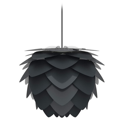 UMAGE Black Pendant Light with Anthracite Black Metal Shade 2130_4008
