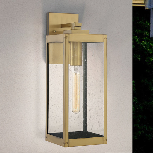 Quoizel Lighting Quoizel Lighting Westover Antique Brass Outdoor Wall Light WVR8406A