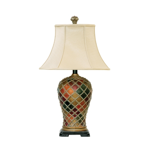 Dimond Lighting Table Lamp with Beige / Cream Shade 91-152