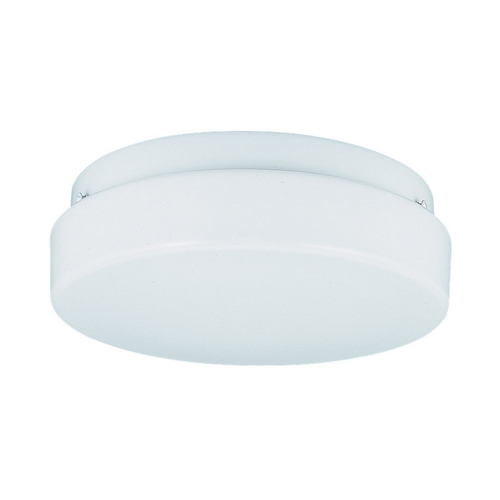 Sea Gull Lighting Modern Flushmount Light with White in White Finish 7926BLE-15