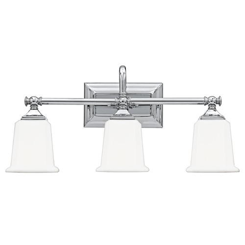 Quoizel Lighting Three-Light Chrome Vanity Light NL8603C