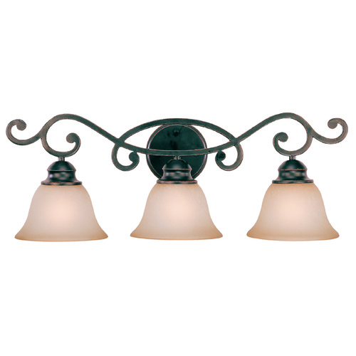 Jeremiah Lighting Jeremiah Farmington Raven's Wash Bathroom Light 23003-RW
