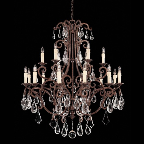 Savoy House Savoy House New Tortoise Shell Crystal Chandelier 1-1404-18-56