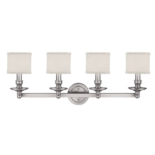 Capital Lighting Capital Lighting Midtown Matte Nickel Bathroom Light 1239MN-451