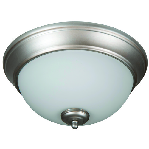 Jeremiah Lighting Jeremiah Pro Builder Flush Brushed Satin Nickel Flushmount Light XP11BN-2W