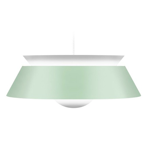 UMAGE UMAGE White Plug-In Swag Pendant Light with Abstract Shade 2036_4009