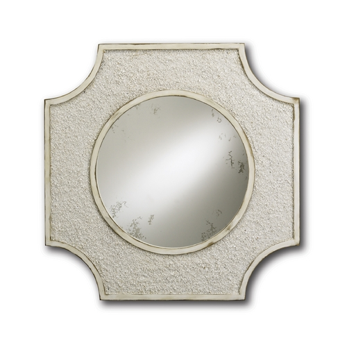 Currey and Company Lighting Endsleigh Square 28-Inch Mirror 1005