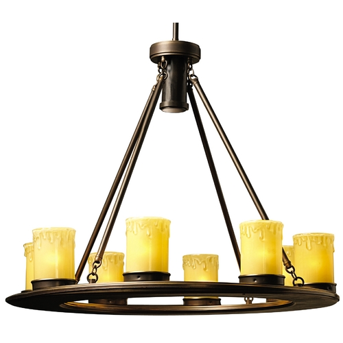 Kichler Low Voltage Outdoor Chandelier 15402oz