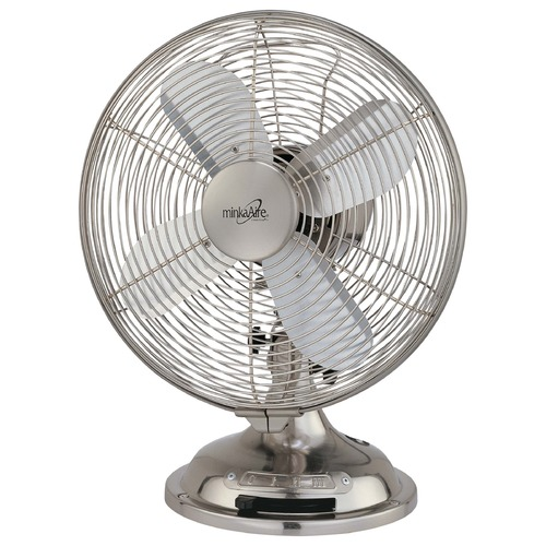 Minka Aire Retro Table Top Fan F300-BN