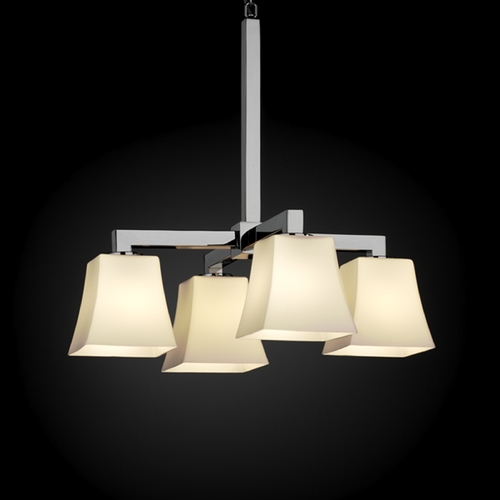 Justice Design Group Justice Design Group Fusion Collection Chandelier FSN-8920-40-OPAL-CROM