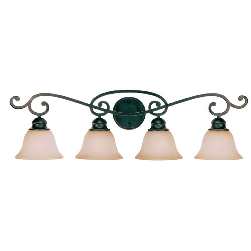 Jeremiah Lighting Jeremiah Farmington Raven's Wash Bathroom Light 23004-RW