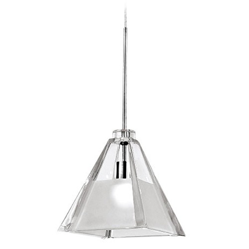 WAC Lighting Wac Lighting European Collection Chrome Track Light Head QP915-CF/CH