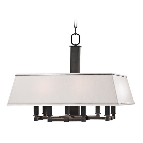 Hudson Valley Lighting Hudson Valley Lighting Kingston Old Bronze Pendant Light with Rectangle Shade 7024-OB
