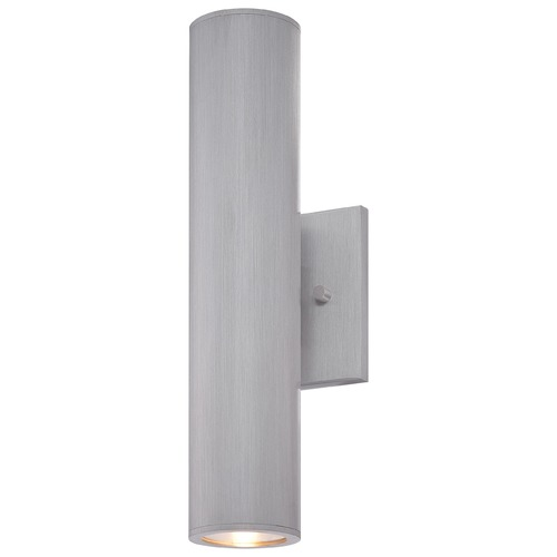 Minka Lavery Minka Lighting Skyline Brushed Aluminum LED Outdoor Wall Light 72502-A144-L