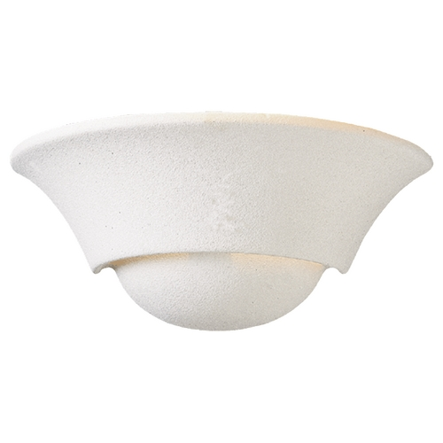 Quorum Lighting Quorum Lighting Textured White Sconce 5620-66